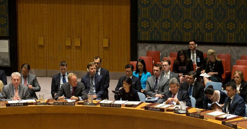 Il Consiglio di sicurezza Onu oggi a New York. Al centro l'americana Nikky Haley
